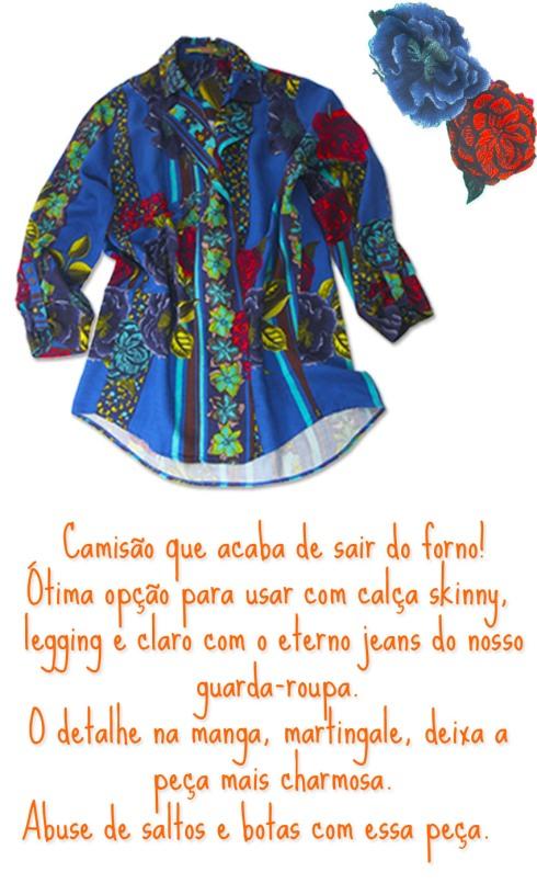 Look Camisão psd